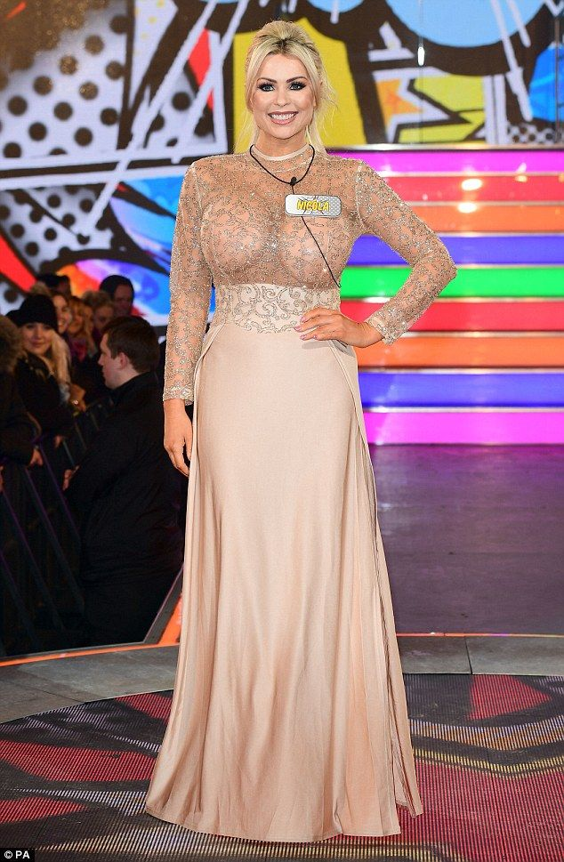 Going in anyway: Nicola McLean headed into the Celebrity Big Brother House on Tuesday desp...
