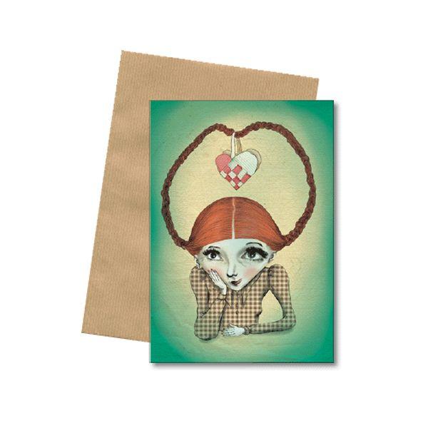 Bob Noon julekort med kuvert
