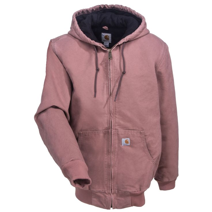 Carhartt Clothing Women's Sandstone Quilt-Lined WJ130 667 Pink Active Jacket
