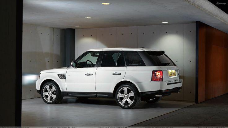 Side Pose Of 2010 Range Rover Sport In White.jpg 1,920×1,080 pixels