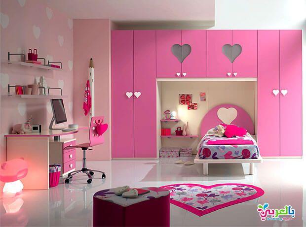 ديكورات غرف نوم بنات بسيطة تصاميم مودرن 2020 بالعربي نتعلم Kids Bedroom Sets Modern Kids Bedroom Furniture Barbie Room