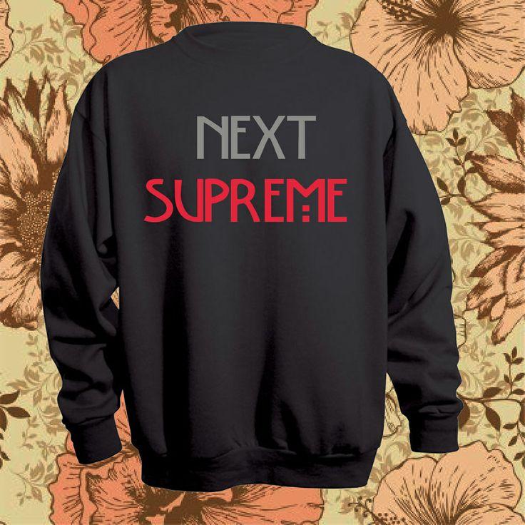 Next Supreme sweatshirt in sale.