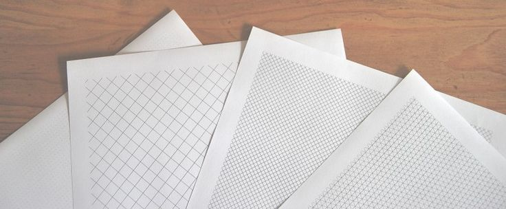 Have you ever needed graph, lined, isometric or any other kind of paper to act as a background for your digital drawings, or to help with a project you're working on? Check out Printable Paper from Inspiration Hut
