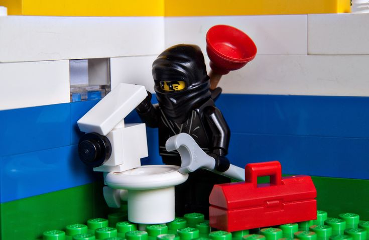 Contact Sensei Flush for service so fast you'd swear he was a ninja. (He really is)
