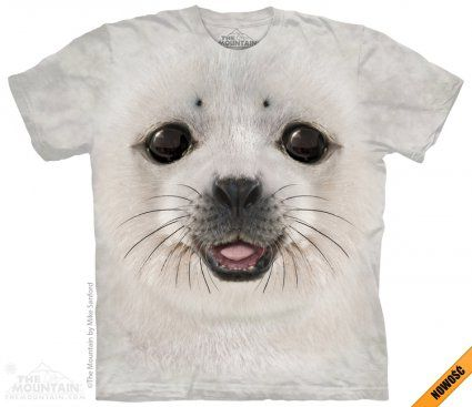 Big Face Seal - The Mountain - Koszulka z foką - www.veoveo.pl