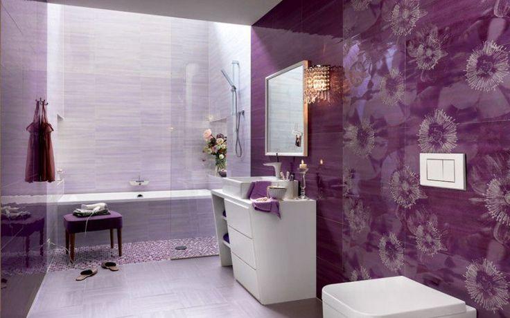Красивый 😍#дизайнплитки в #ванной комнате  Цвет — это душа плитки, которую предлагает нам итальянская фирма FAP Ceramiche. Эта плитка позволяет сделать абсолютно индивидуальный дизайн ванной комнаты. Количество возможных вариантов цветов плитки просто бесконечно, от спокойных сливочно-желтых и бежевых тонов и вплоть до яркого фиолетового и красного. Это безусловно лучшая плитка для ванной комнаты, которую мы видели до сегодняшнего дня…