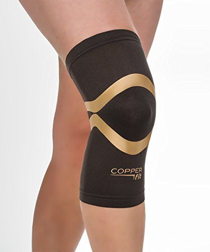 Copper Fit Pro Series Performance Compression Knee Sleeve -- See this great image @ https://www.amazon.com/dp/B0158FBIN4/?tag=fitnessztore-20&lm=220716013405