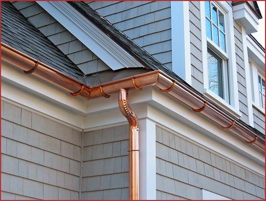 Half Round Aluminum Amp Copper Gutters Essex Seamless