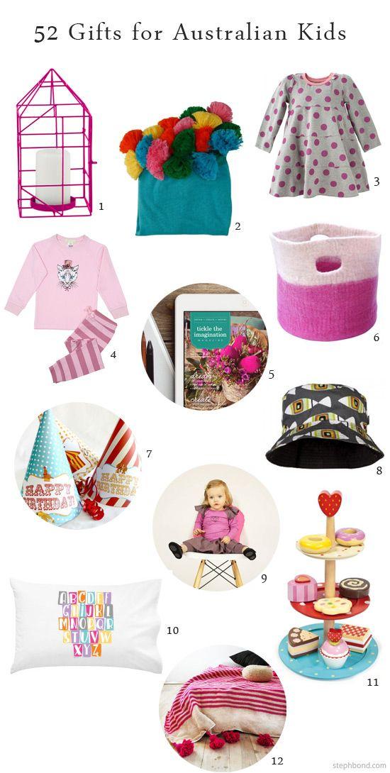 Bondville: 52 gifts for kids - the Bondville Australian Online Shopping Guide