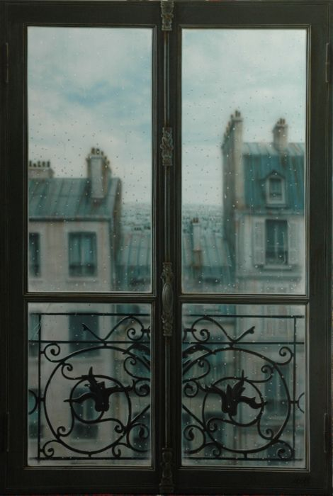 View in Amelia's Room when she is in France to negotiate with Elias.
