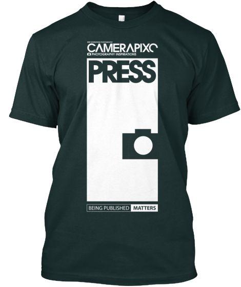 BLACK PRESS Camerapixo T-Shirt