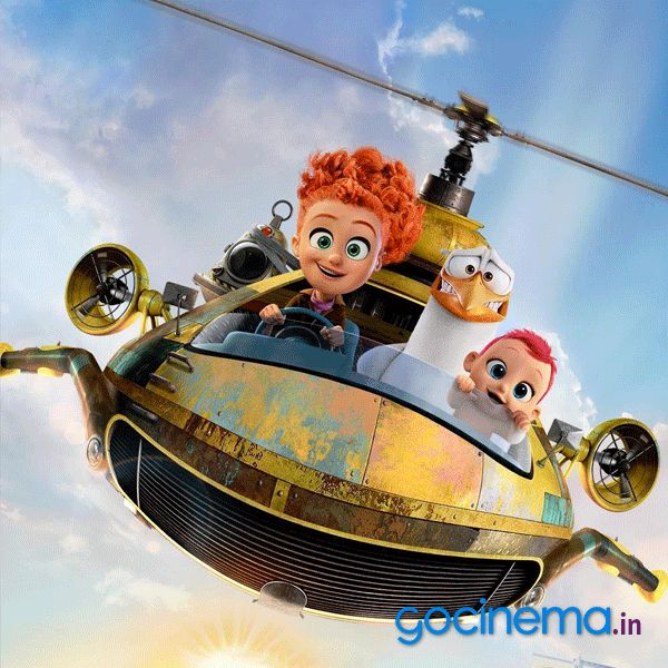 3D Animated Movie Storks Review