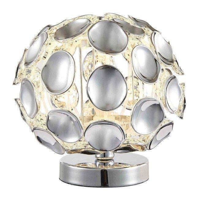 Lampka Ontario 1 X 40 W E14 Chrom Lampy Stolowe Lampy Stojace Oswietlenie Urzadzanie Candle Holders Decor Home Decor