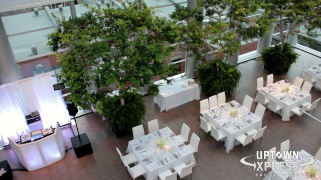 We celebrated with Helena and Peter for their Greek and Polish wedding in the Glass Court inside the Montreal Museum of Fine Art!
