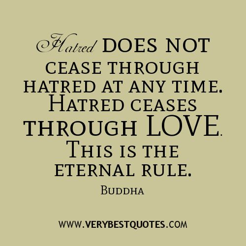Love Never Leaves Buddha Quote