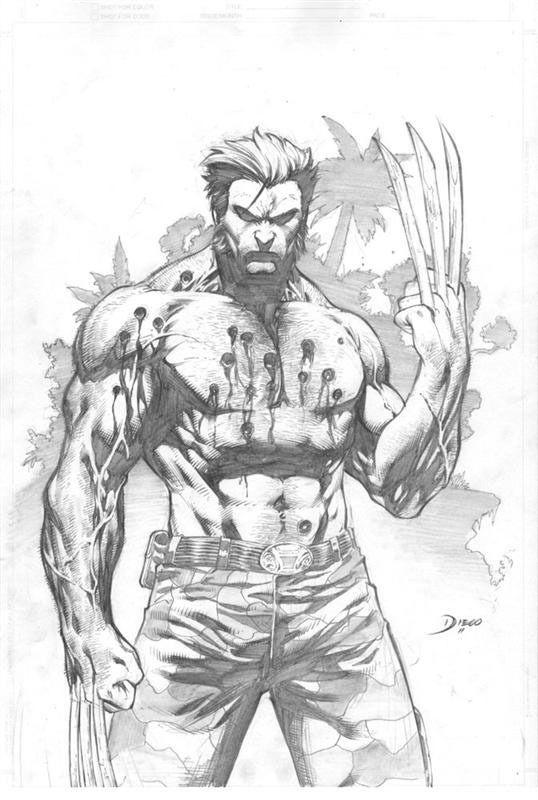 1279 best wolverine stuff images on pinterest comics - Dessin wolverine ...