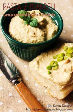 Jak pączek w maśle...blog kulinarny,smacznie,zdrowo,kolorowo!: Domowa pasta rybna z wędzonej makreli