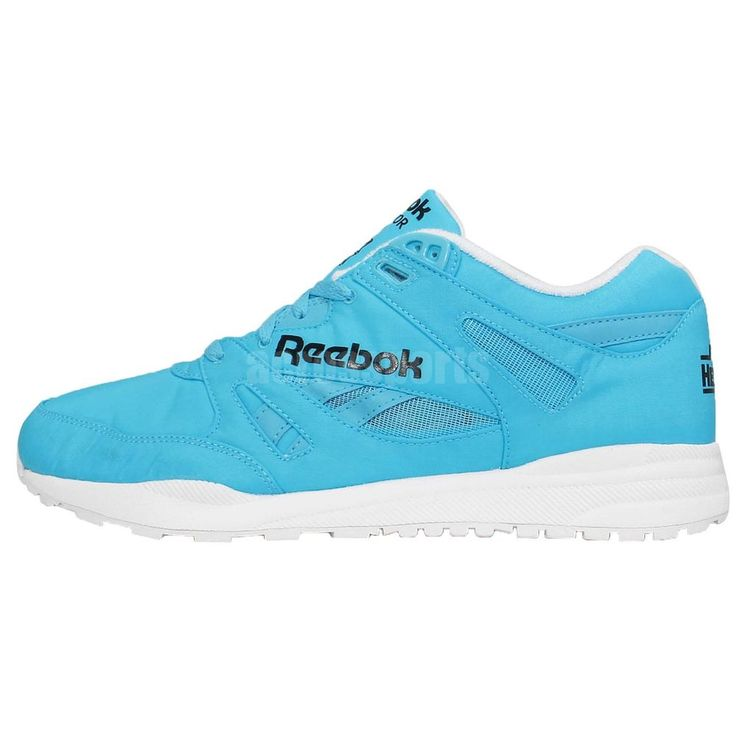Reebok Ventilator DG Day Glo Blue White Hexalite Running Sneakers Casual  Shoes http://