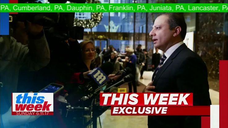 This Week W/ George Stephanopoulos 6/11/17 | ABC News Sunday June 11, 2017