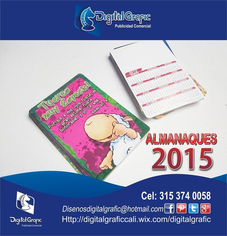Venta de almanaques por catalogo 2015