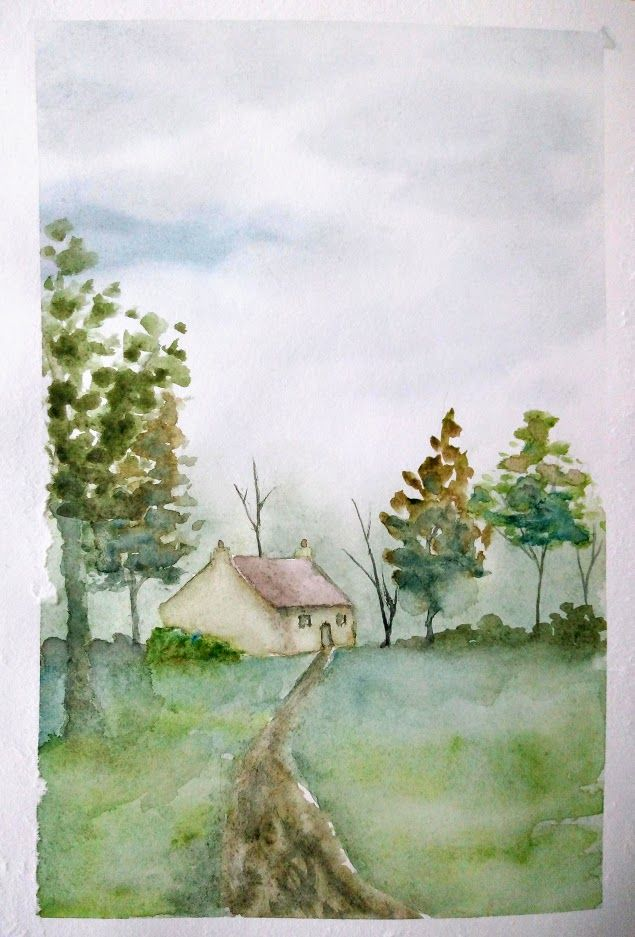 Progressons Ensemble A L Aquarelle En 2020 Peinture Aquarelle