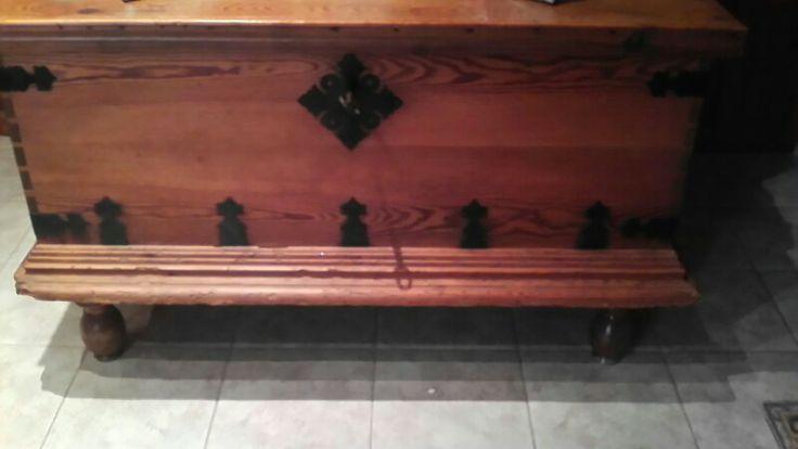 Arca de madera