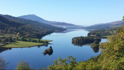 Perthshire Scotland 'the Queens view'