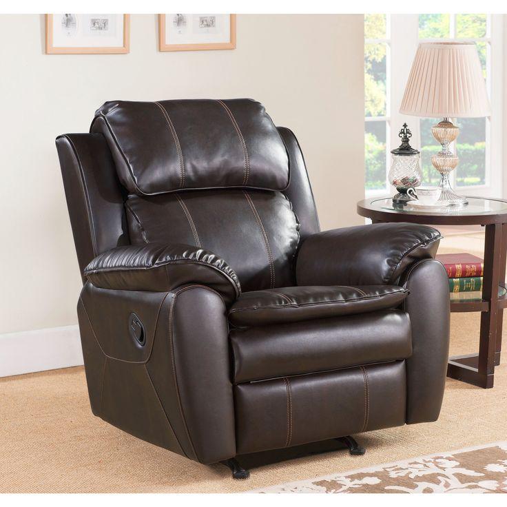Dark Brown Leather Recliner Chair top 25+ best rocker recliner chair ideas on pinterest | oversized