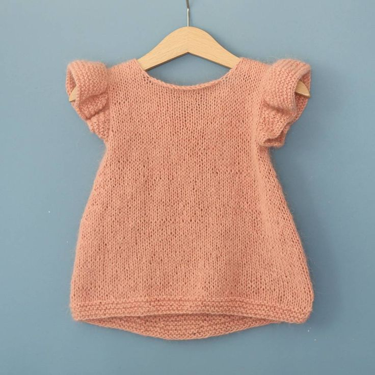 """""""This top. .finally out on paelas in english #pusetopp #fyzzytop #paelas #knittingpattern"""""""