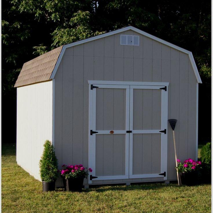 Little Cottage Value Precut Kit Solid Wood Storage Shed Sidewalls Built With Amish Craftsmanship This Wooden Storage Sheds Building A Shed Wood Storage Sheds