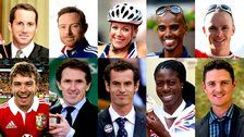 Can you believe it's been a year since Bradley Wiggins was crowned BBC's Sports Personality of the Year?!  The short-list is in - who gets your vote?   Athletes Mo Farah, Christine Ohuruogu and Hannah Cockroft are included along with tennis star Andy Murray and cyclist Chris Froome, Golfer Justin Rose, sailor Sir Ben Ainslie, jockey AP McCoy, cricketer Ian Bell and rugby union player Leigh Halfpenny.