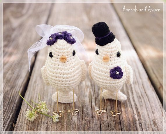Free Crochet Amigurumi Bird Pattern Wedding Crochet