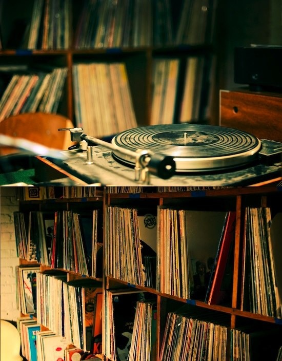 Just take those old records off the shelf, I sit and listen to 'em by myself
