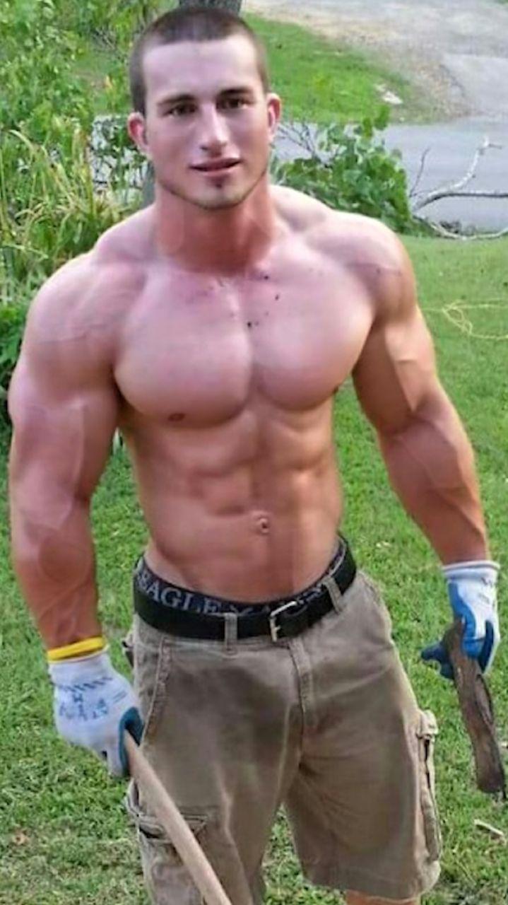 Bite dans muscle men photo x y z piece