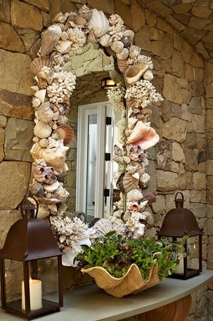 Beach home entry......David Phoenix Interior Designs