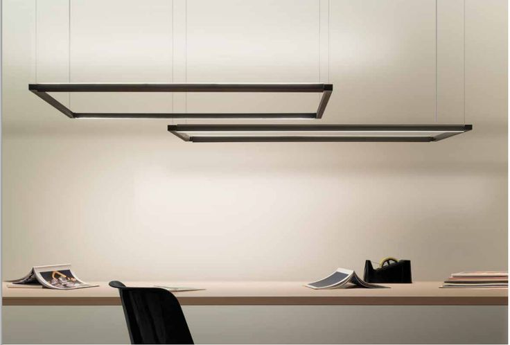 An interesting product created by using a large area LED lamp installed on an extruded, tubular aluminium structure. Spigolo Pendant is like a sharp square. | #ledlab #blog #lighting #lamp #design
