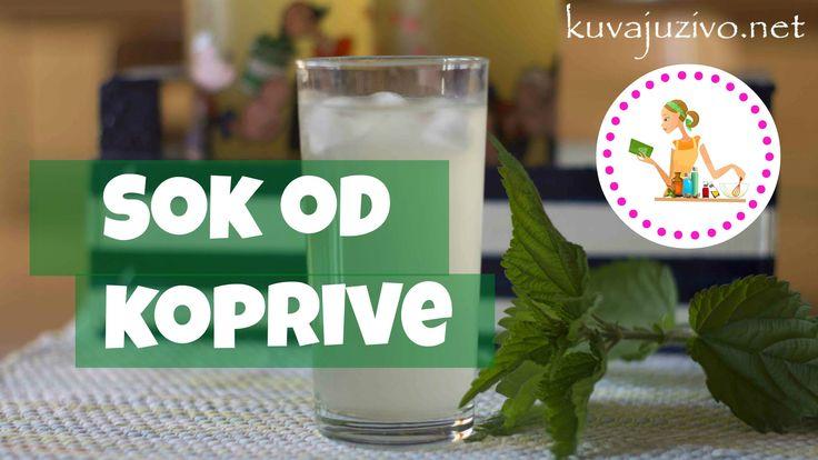 Sok od koprive (sirup na rastvaranje) - Video recept