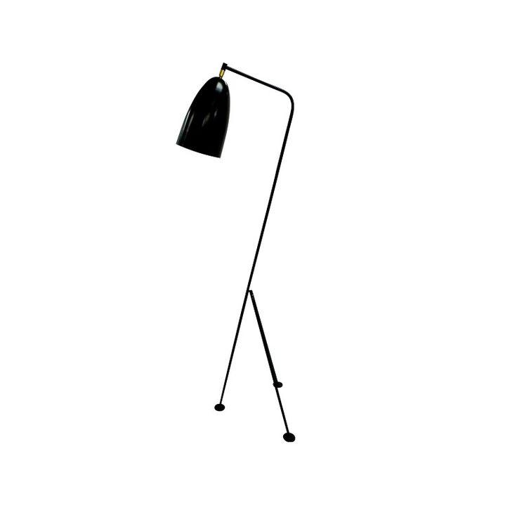 Esta lámpara de pie quedará perfecta en tu livingMaterial:Medidas: