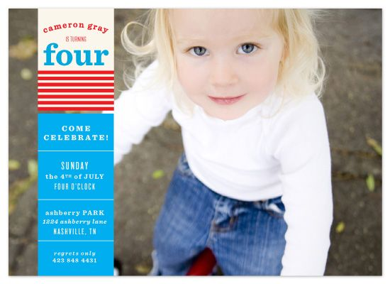 87 best 4th of July 1st Birthday images on Pinterest Fourth of - fresh birthday invitation from a kid