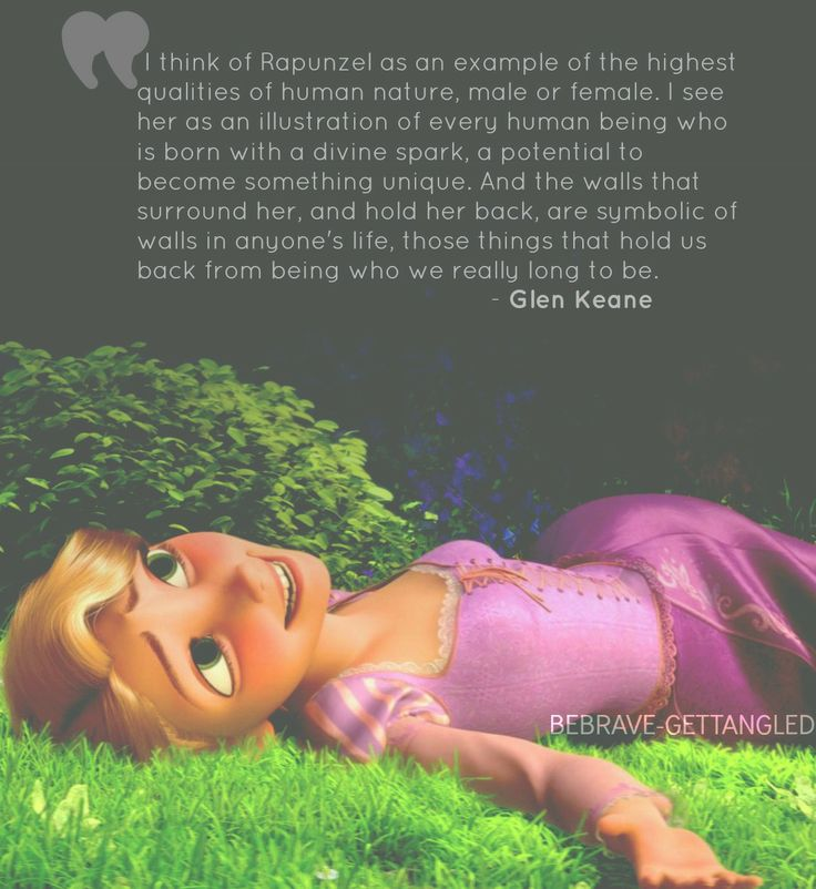 I've pinned it before, and I'll pin it again! This. This is why Tangled!