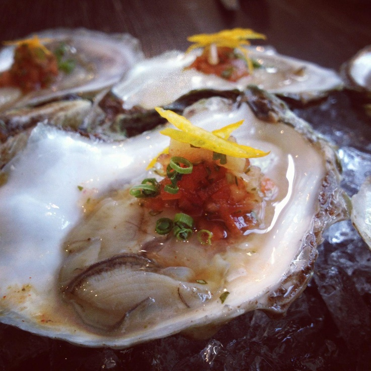 #Colville Bay #Oysters at #Park #Restaurant in #Quebec. http://parkresto.com