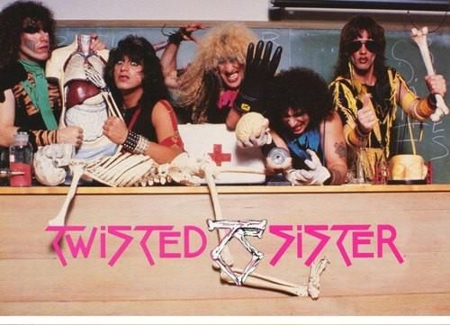 twisted sister band 1985 rare vintage poster in 2019 vintage posters sister band hair metal. Black Bedroom Furniture Sets. Home Design Ideas