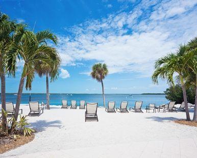 Hampton Inn Key Largo Hotel, FL - Beach View