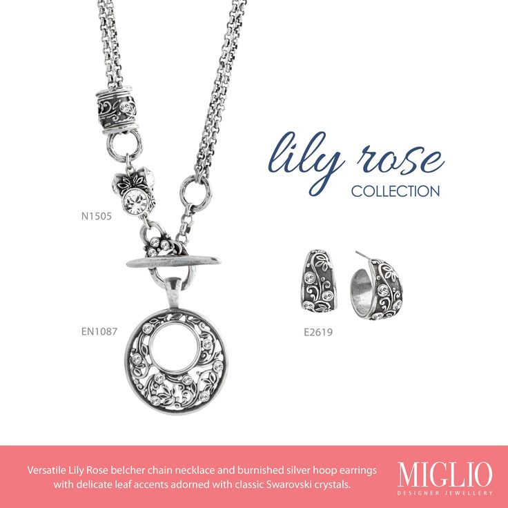 Delicate leaf accents and classic Swarovski crystals