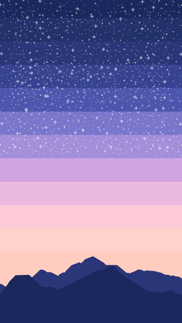 """raccoonincorp: """" Backgrounds for iphone5. I really wanted something with stars. """" My friend made these and they're hella cool!"""
