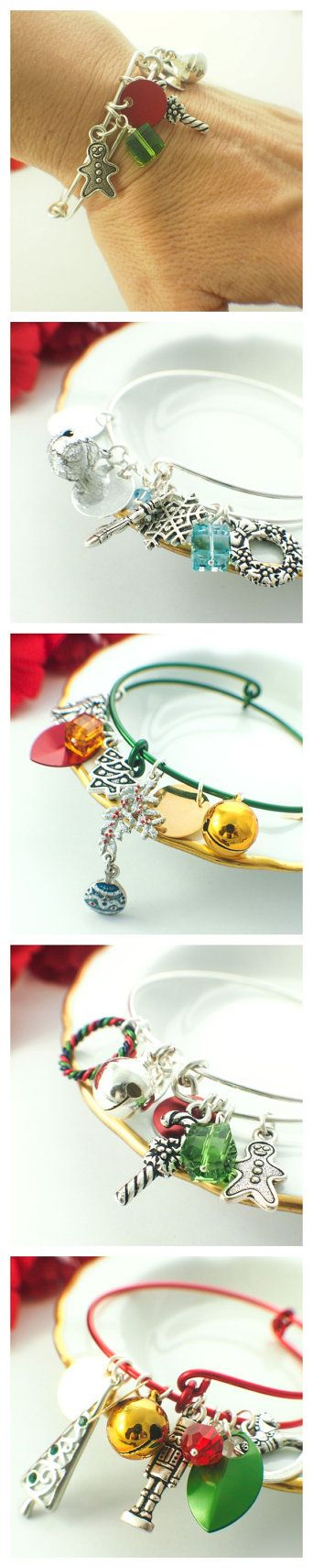 SnagLess Christmas Charmed Bangle Kit by UnkamenSupplies on Etsy