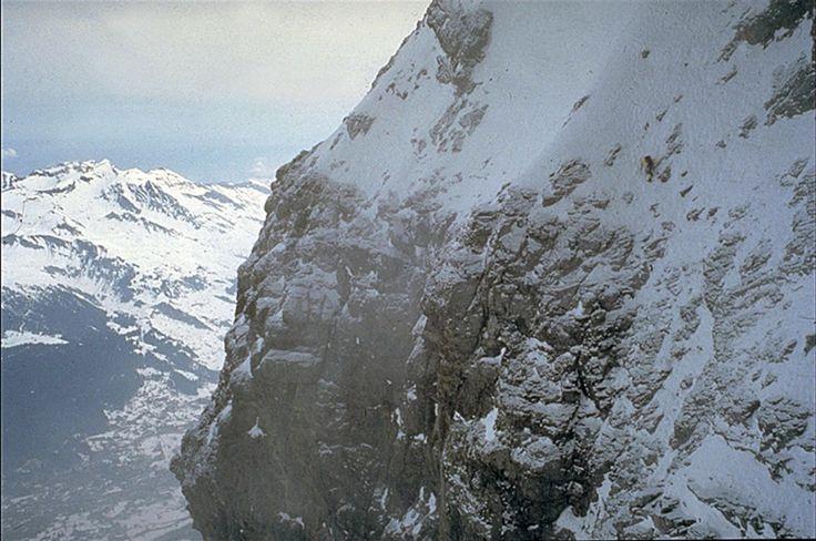 © René Robert; Catherine Destivelle, ascension en solo hivernal de la face nord de l'Eiger