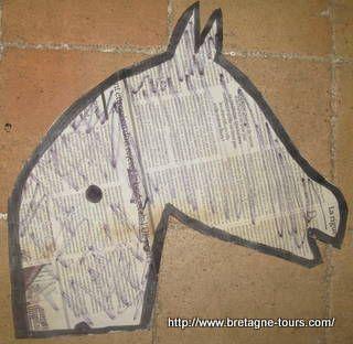 patron pour faire un cheval baton id es de f tes. Black Bedroom Furniture Sets. Home Design Ideas
