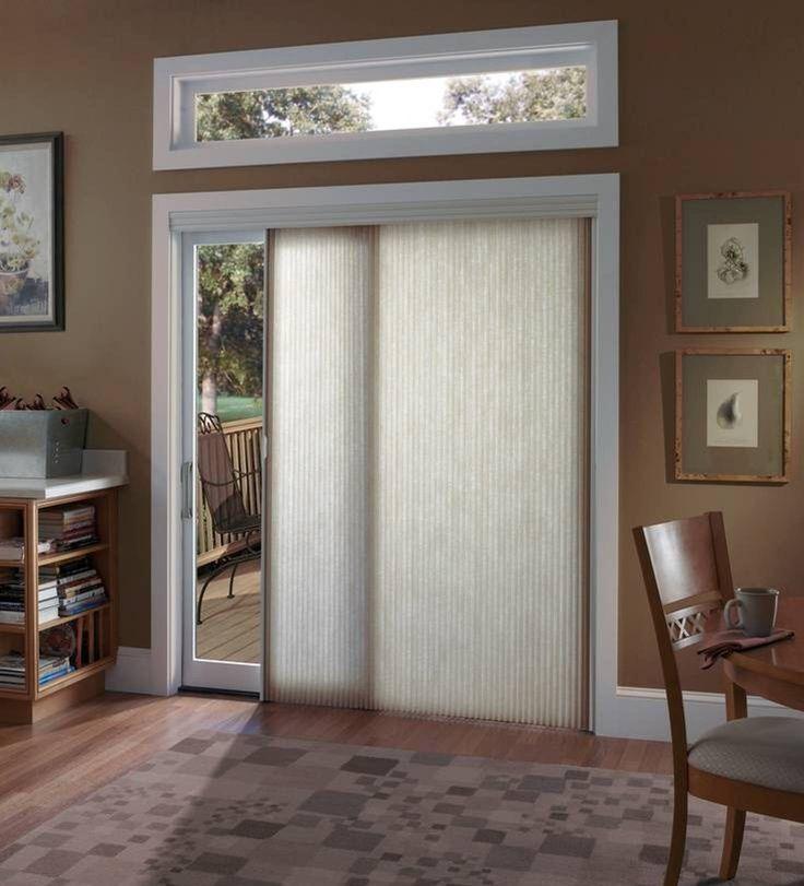 Home Garage Design Ideas: Remarkable Sliding Glass Door Window Treatments