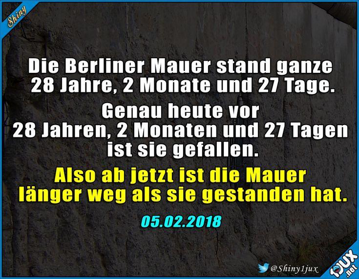 Ein denkwürdiger Tag #BerlinerMauer #Mauer #Berlin #gefallen #Fakt #Fakten